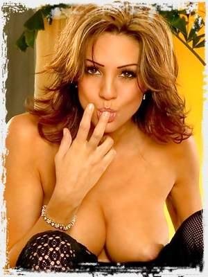 Fine Boobs Secretary fingers her Vagina